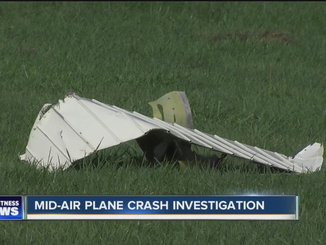 Mid-air collision investigation continues