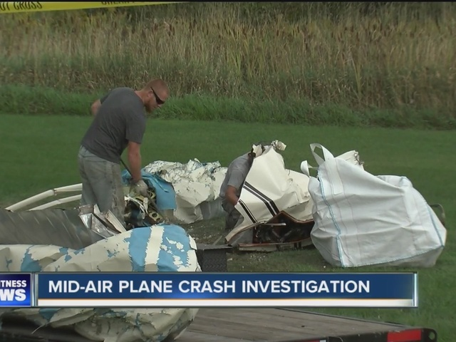 North Collins plane crash investigation