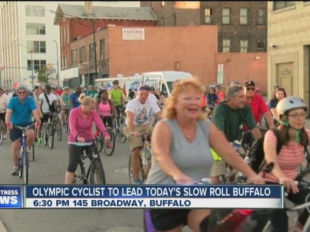 Olympian to lead Buffalo's Slow Roll