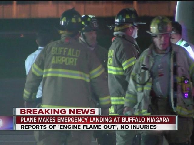 Plane makes emergency landing at Buffalo Niagara International