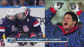 Gold medalists mentor students through Classroom
