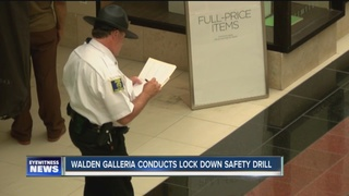 Walden Galleria holds lockdown safety drill