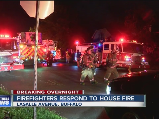 Bedroom fire on LaSalle Avenue