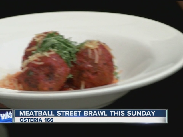 Buffalo gets ready to celebrate the Meatball Street Brawl