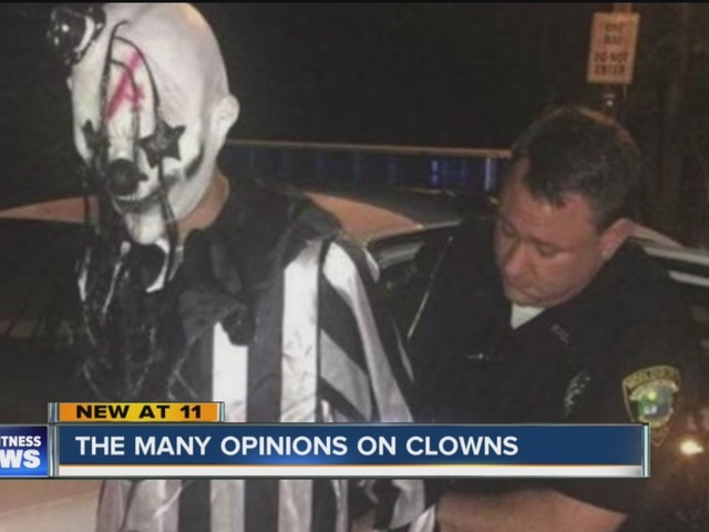Clown sightings leave people on edge
