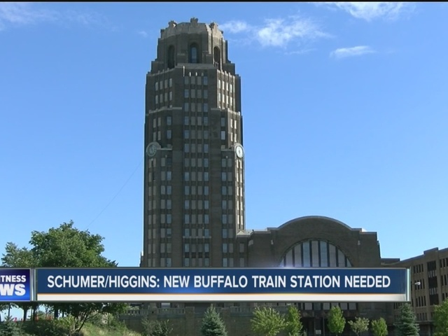 Higgins calls for study of new Amtrak station