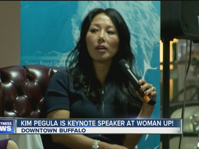 Kim Pegula inspires WNY women at Woman Up event