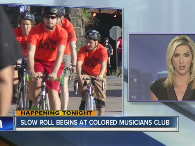 Olympic medalist will lead tonight's Slow Roll