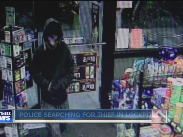 Reported robbery at Lockport Sunoco