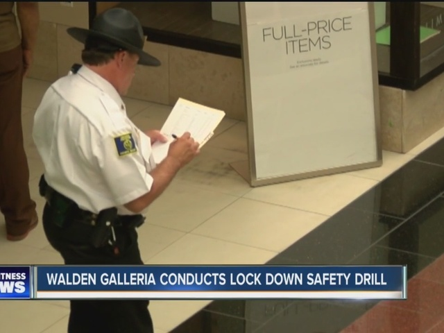 Walden Galleria hosts lockdown drill after mall violence across the country