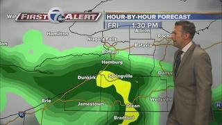 Rain arrives tonight
