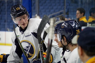 Eichel expects Sabres to make the playoffs