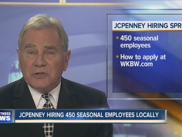 JCPenny announces holiday hiring spree