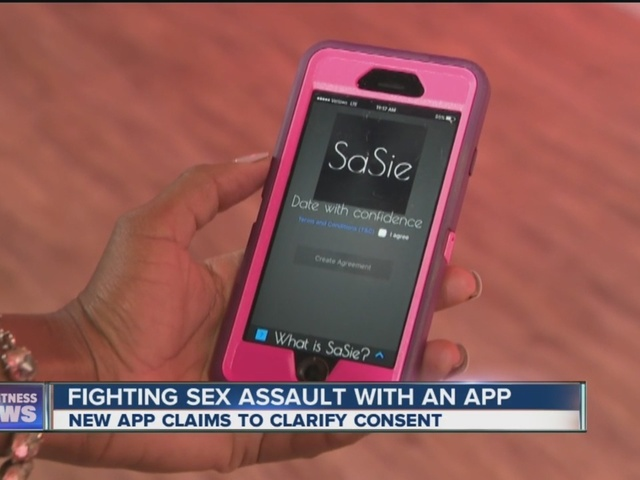 New sexual consent app for college students