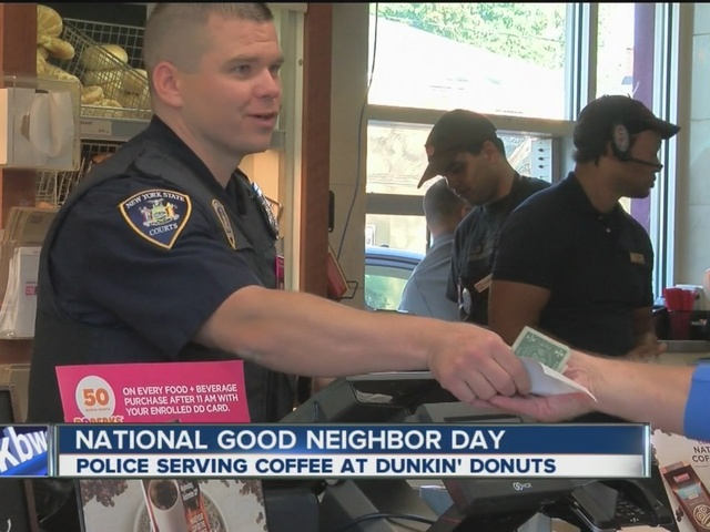Police connecting with the community over coffee