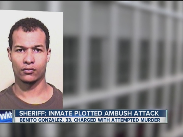 Sheriff: Inmate plotted to have vehicle ambushed