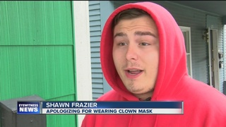 Man behind NT clown sighting apologizes