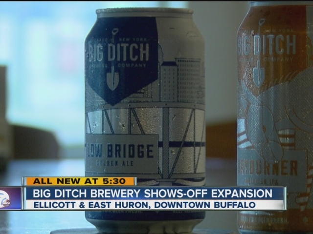 Big Ditch Brewing adds line of canned beer