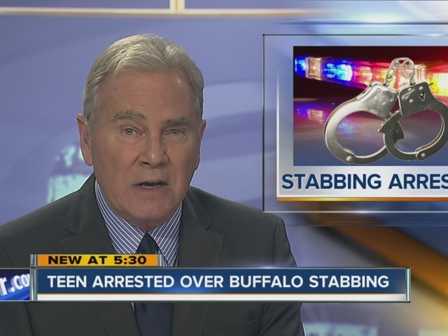 Buffalo Police arrest suspect in double stabbing