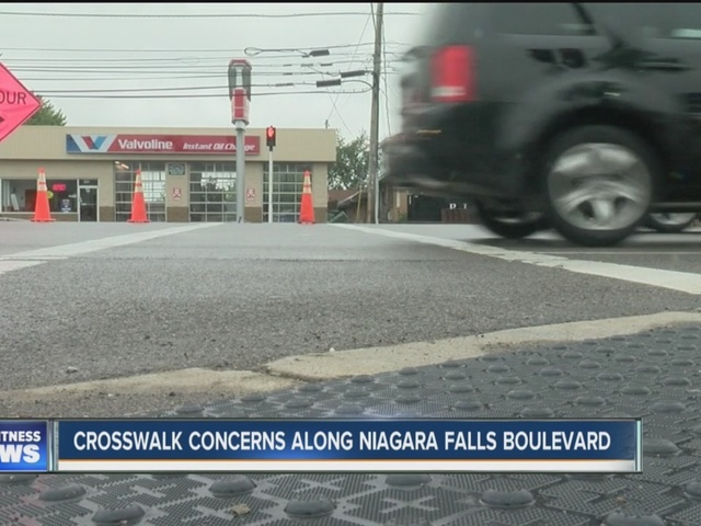 Crosswalk concerns along Niagara Falls Blvd.