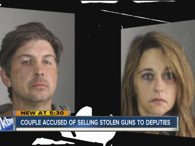 Eden couple arrested in stolen gun case