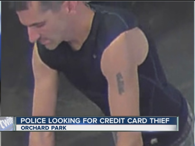 Police looking for credit card thief