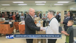 "Lewiston Employees Awarded as ""Heroes"""