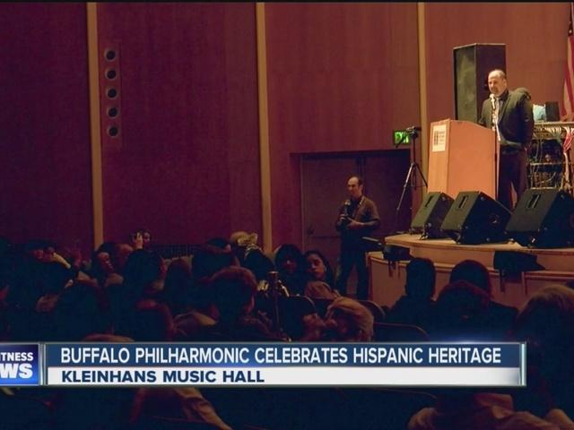 Hispanic heritage month main celebration at Kleinhans Music Hall