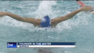 MSM's Kelly Burns shines in the pool