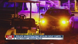 Stolen golf carts appear in Falls neighborhood