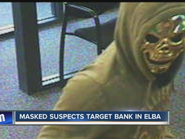 Mask-wearing robbers evade Genesee Co. Sheriffs