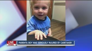 Parents: Caretaker caused child's brain damage