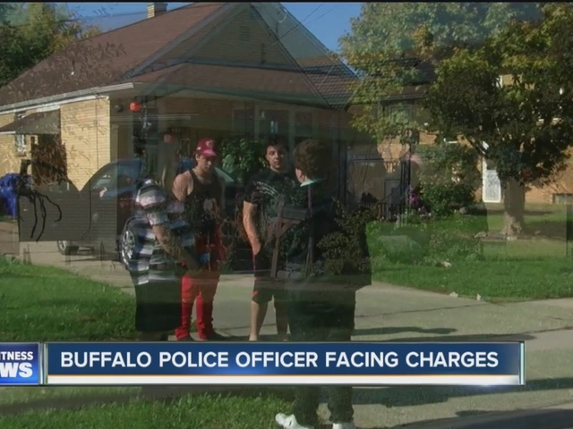 BPD officer facing harassment charge