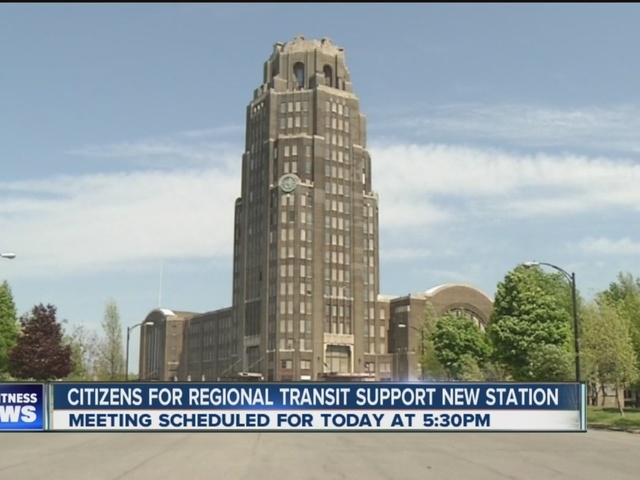 Citizens For Regional Transit support push for new train station in buffalo