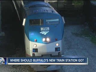 Group considers new Buffalo train station