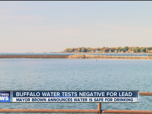 City officials announce Buffalo water is safe for drinking and lead-free