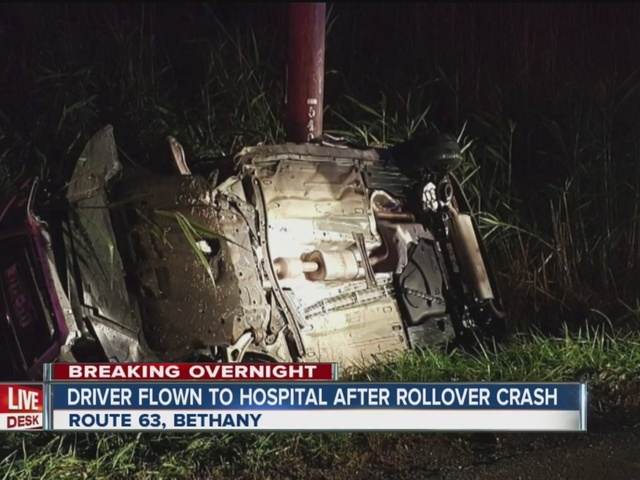 Driver charged with DWI after overnight crash