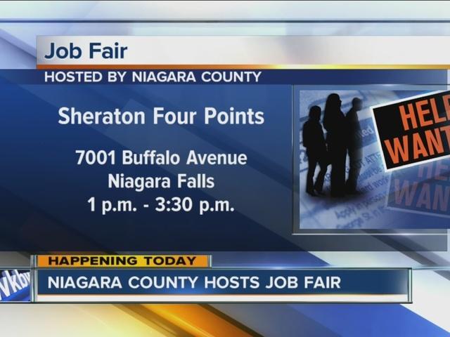 Niagara County holding career fair