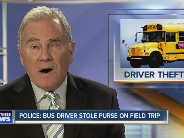School bus driver accused of stealing purse