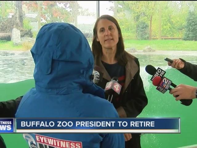 Buffalo Zoo President announces retirement