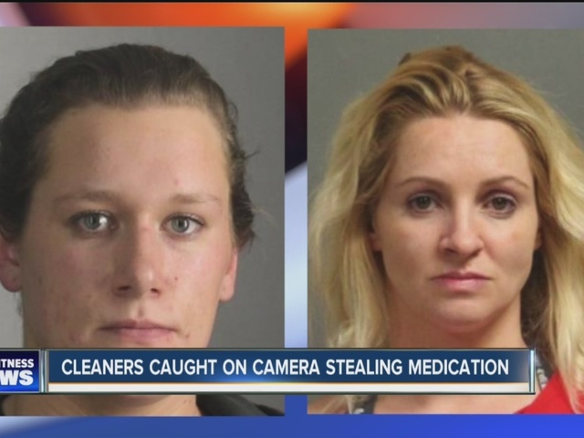 Cleaning crew arrested for stealing meds