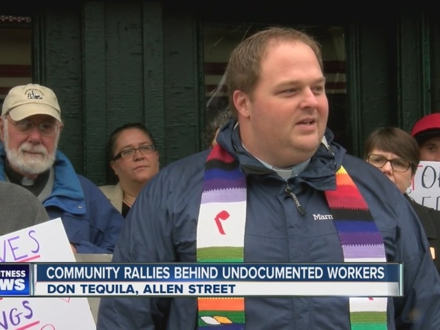 Community rallies behind undocumented workers
