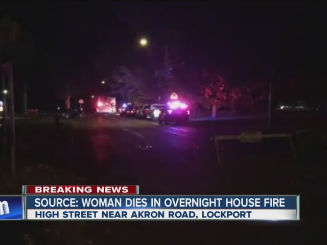 Ex-husband says fire in Lockport is criminal