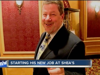 It's a homecoming for Shea's new president