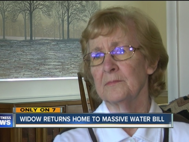 7 Investigates: Widow Returns Home to Massive Water Bill