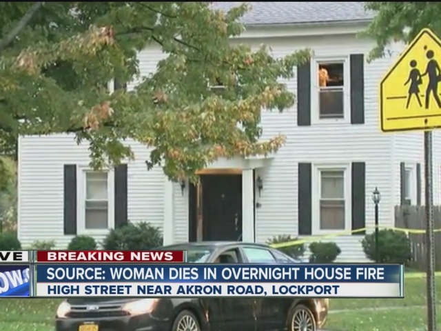 Woman found dead after Lockport house fire