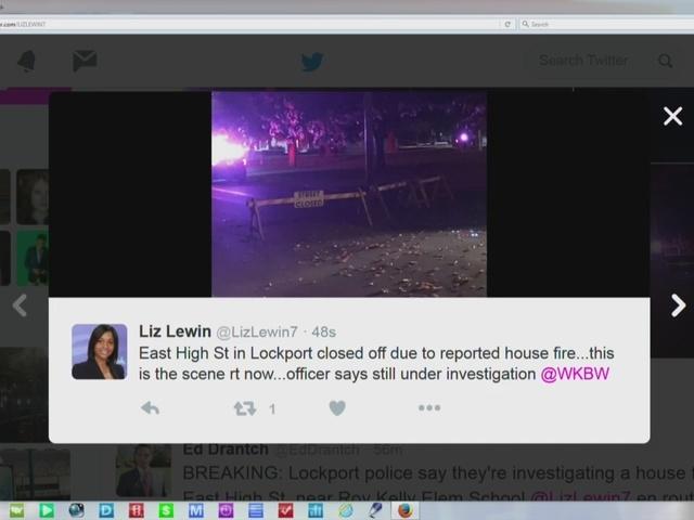 Woman in her 50s dead in Lockport fire