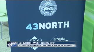 "43North kicks off ""Startup Weekend"""