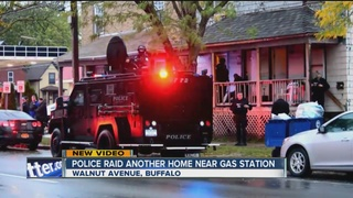 Falls police raid another home near gas station