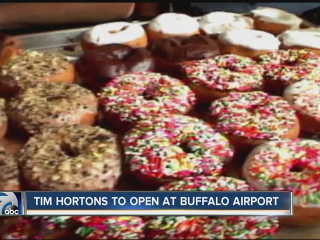 Aiport adds Tim Hortons as a dining option for travelers